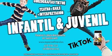 Baile + teatro + interpretación para niños tickets