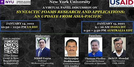 Syntactic foams: An update on Research and Applications in Asia-Pacific tickets