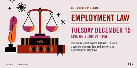 Bill and Order Presents: Employment Law tickets