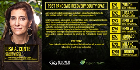 Post Pandemic Recovery Equity SPAC - Geneva, 7/12 tickets