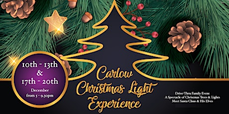 Carlow Christmas Light Experience tickets