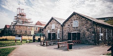 Mynediad: Big Pit Amgueddfa Lofaol Cymru    Entry: Big Pit Coal Museum tickets