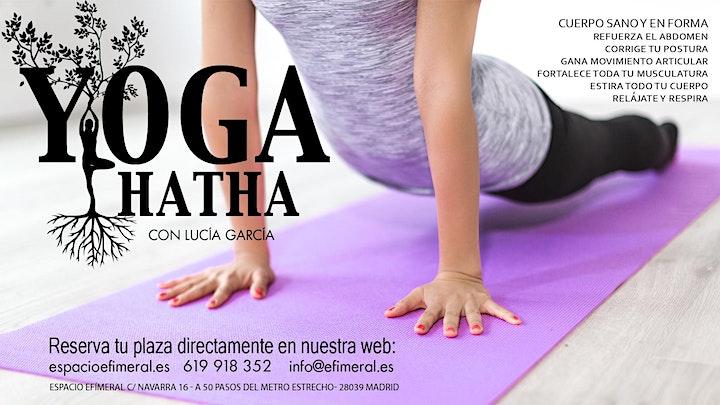 Clases de Hatha Yoga image