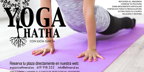 Clases de Hatha Yoga tickets