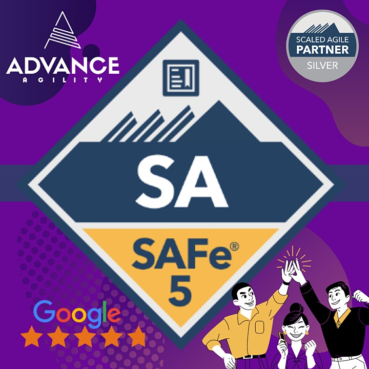 Leading SAFe 5.0 (Online/Zoom) June 26-27, Sat-Sun, Singapore Time (SGT) image