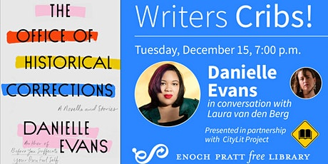 Writers Cribs! Danielle Evans tickets