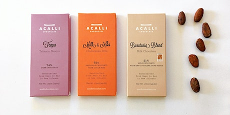 Online Chocolate Tasting with Carol Morse of Acalli Chocolate tickets