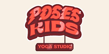 Après-midi Portes Ouvertes - Poses Kids Yoga billets