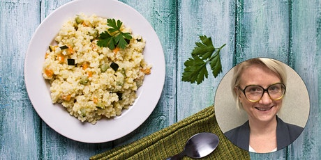Virtual Budget Cooking: Millet Power Bowl with Moroccan-Spiced Carrots tickets