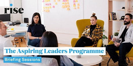 The Aspiring Leaders Programme Briefing Sessions tickets