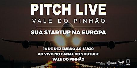 PITCH LIVE VALE DO PINHÃO 2 bilhetes