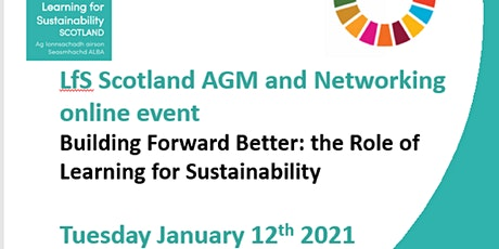 LfS Scotland AGM  and Networking event Jan 2021 tickets