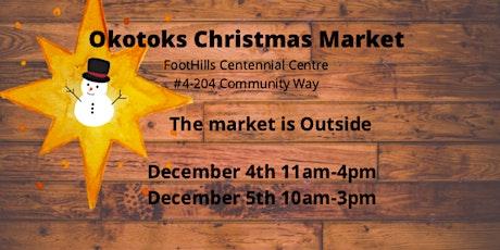 Okotoks  Outside Christmas Market tickets