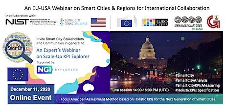 USA-EU Webinar on Smart Cities & Regions for International Collaboration tickets