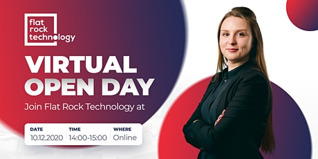 Virtual Open Day at Flat Rock Technology tickets