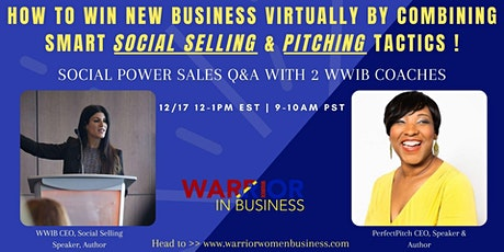 Win new business VIRTUALLY by combining smart Social Selling & Pitching! tickets