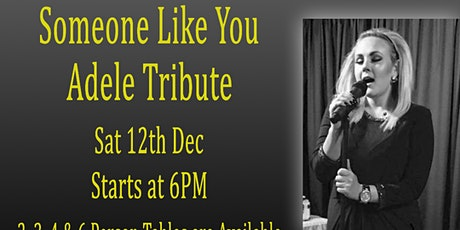 Adele Tribute with Lucy Winter As Someone Like Adele & Christmas songs tickets