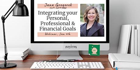Integrating your Personal, Professional & Financial Goals w/ Jana Gregorek
