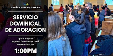 SERVICIO DE ADORACION - WORSHIP SERVICE ingressos