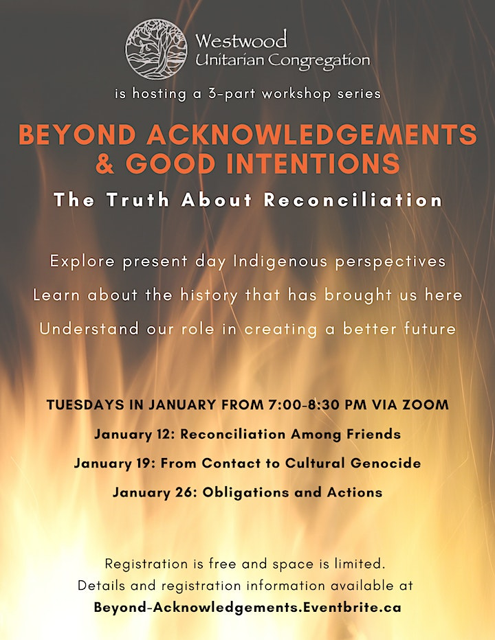 Beyond Acknowledgements & Good Intentions: The Truth About Reconciliation image