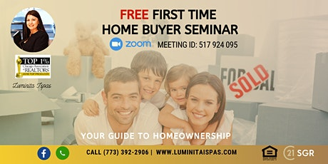 Time for your Dream Home at your First Time Home Buyer Online Seminar tickets