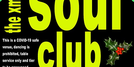 RESCHEDULED TO 19TH DECEMNER - The Soul Club - TICKETS ON SALE NOW tickets