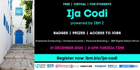 Ija Codi (for Tunisian Students) tickets