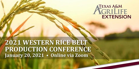 2021 Virtual Western Rice Belt Production Conference tickets