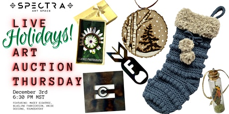 Live Art Auction | Stocking and Stuffers Holiday Edition tickets
