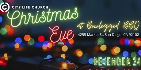 EARLIER Christmas Eve tickets