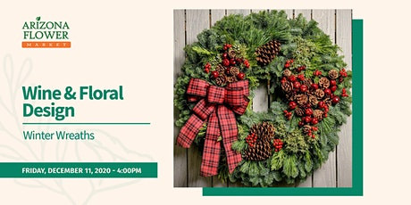 Wine & Design: Winter Wreaths tickets