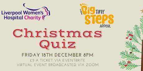 Liverpool Women's Hospital Charity Xmas Quiz - Fri 18th December 2020 @ 8pm tickets