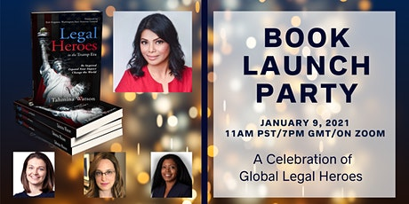 Legal Heroes Book Launch Party- A Celebration of Global Legal Heroes! tickets