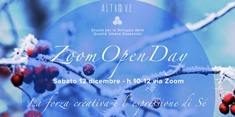 OPEN DAY Altroove 12 dicembre tickets