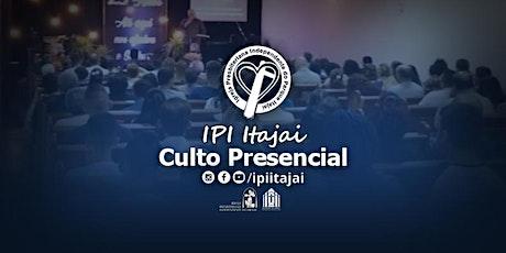IPI Itajaí - CULTO PRESENCIAL DE LOUVOR E ingressos