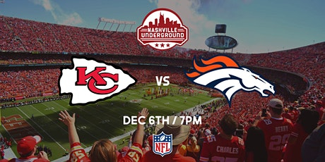 Chiefs Watch Party: Chiefs vs Broncos tickets