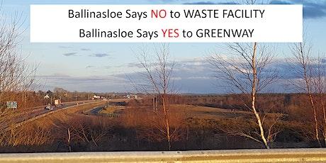 Ballinasloe Says No  - DECEMBER Online Public Meeting tickets