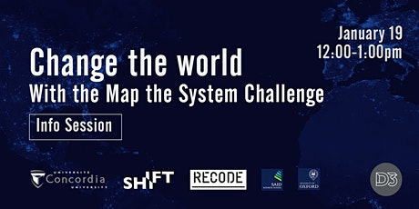Map the System Info Session tickets