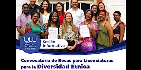 Convocatoria de Becas: Diversidad Étnica tickets