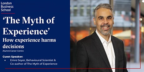 'The Myth of Experience' with Emre Soyer (Europe Time Zone) tickets