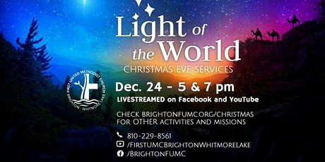 Christmas Eve Worship Service (Online) tickets