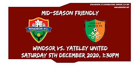 Windsor Vs. Yateley United tickets
