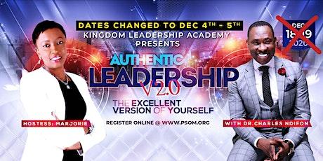 Kingdom Leadership Academy: AUTHENTIC LEADERSHIP 2.0 tickets
