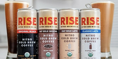 RISE:  Nitro Cold Brew Coffee Tutored Tasting Event tickets