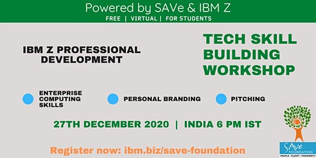 Skill Building Workshop: brought to you by SAVe Foundation & IBM Z tickets