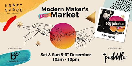 Modern Maker's Online Christmas Market tickets
