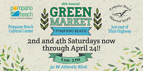 Green Market Pompano Beach tickets