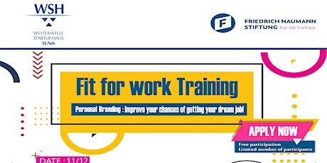 Fit for work: Management de la marque personnelle billets