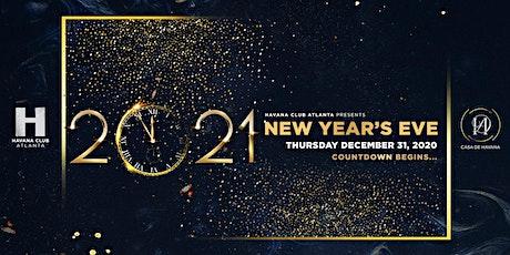 Havana New Years 2021 tickets