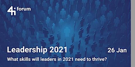 4iforum: Leadership 2021 tickets